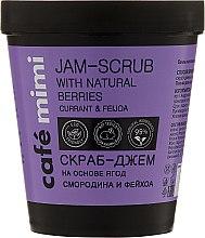 Парфюми, Парфюмерия, козметика Скраб за тяло - Cafe Mimi Jam-Scrub With Natural Berries