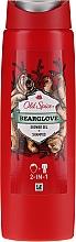 Парфюмерия и Козметика Шампоан-душ гел 2в1 - Old Spice Bearglove Shower Gel + Shampoo
