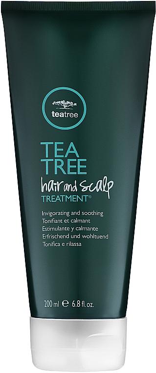 Лечебен скраб екстракт от чаено дърво - Paul Mitchell Tea Tree Hair & Scalp Treatment — снимка N1