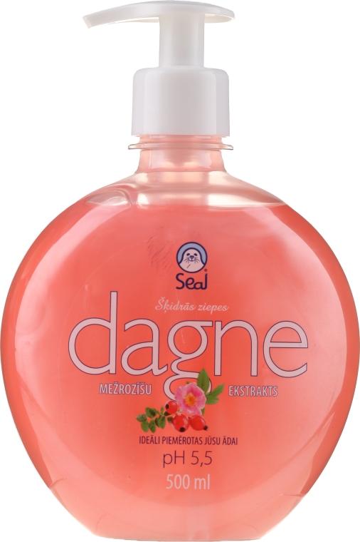 Течен сапун с шипка - Seal Cosmetics Dagne Liquid Soap — снимка N1