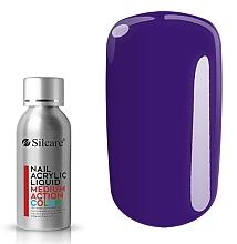 Парфюмерия и Козметика Акрил за нокти - Silcare Nail Acrylic Liquid Medium Action Color