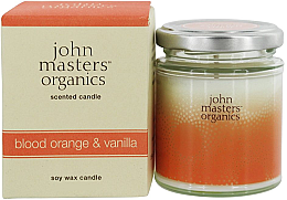 Парфюми, Парфюмерия, козметика Органична соева свещ - John Masters Organics Soy Wax Candle Blood Orange & Vanilla