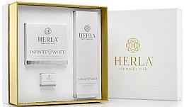 Парфюми, Парфюмерия, козметика Комплект за лице - Herla Infinite White I (крем/50ml + крем/5ml + тонер/200ml)
