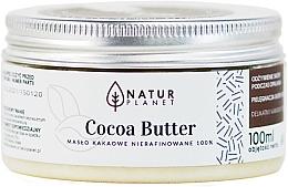 Парфюмерия и Козметика Нерафинирано какаово масло - Natur Planet Cocoa Butter