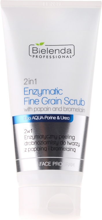 Ензимен минерален скраб за лице 2в1 - Bielenda Professional Face Program 2in1 Enzyme Peel And Fine Grain Scrub