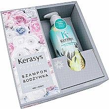 Парфюми, Парфюмерия, козметика Комплект за коса - KeraSys Pure & Charming (шампоан/600ml + балсам/600ml)