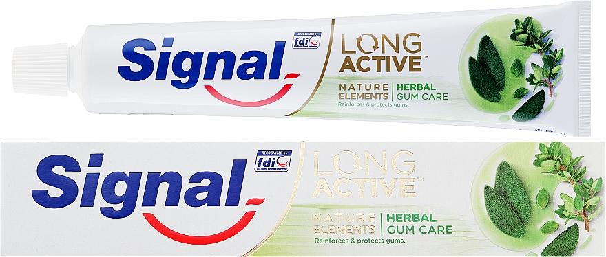 Паста за зъби за защита на венците - Signal Long Active Nature Elements