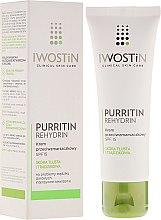 Парфюми, Парфюмерия, козметика Антистареещ крем за лице - Iwostin Purritin Anti-Wrinkle Cream SPF 15
