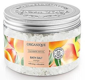 Релаксиращи соли за вана с аромат на манго - Organique — снимка N1