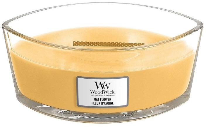 Ароматна свещ в бурканче - WoodWick Oat Flower Candle — снимка N2