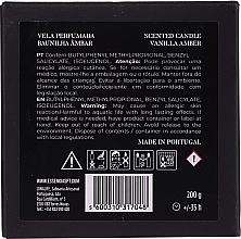 "Ароматна свещ ""Ванилов кехлибар"" - Essencias De Portugal Senses Saudade Vanilla Amber Candle — снимка N3"