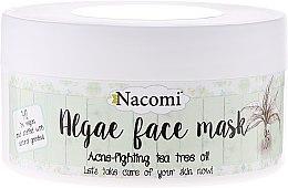 """Парфюми, Парфюмерия, козметика Алгинатна маска за лице """"Зелен чай"""" - Nacomi Professional Face Mask"""