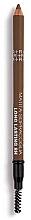 Парфюмерия и Козметика Молив за вежди - Rougj+ Glamtech 8H Long-Lasting Brow Pencil