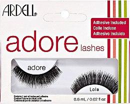 Парфюми, Парфюмерия, козметика Изкуствени мигли с включени лепило - Ardell Adore Strip Lashes with Adhesive Lola