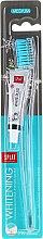 Парфюми, Парфюмерия, козметика Комплект четка за зъби, синя + мини паста за зъби - SPLAT Whitening Medium