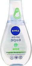 Парфюмерия и Козметика Хидратираща почистваща пяна за интимна хигиена - Nivea Intimo Aloe