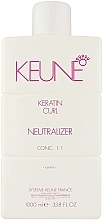 Парфюмерия и Козметика Овлажняващ неутрализатор за коса - Keune Keratin Curl Neutralizer 1:1