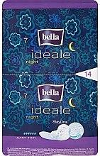 Парфюмерия и Козметика Нощни дамски превръзки Ideale Night StayDrai, 14 бр. - Bella