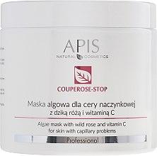 Парфюми, Парфюмерия, козметика Маска от водорасли за капилярна кожа с екстракт от шипка и витамин С - APIS Professional Algae Mask