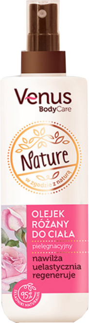 Розово масло за тяло - Venus Nature Rose Body Oil