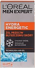 """Парфюмерия и Козметика Овлажняващ гел за лице """"Леден ефект"""" - L'Oreal Paris Men Expert Hydra Energetic"""