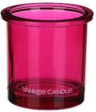 Парфюмерия и Козметика Чаша за свещ - Yankee Candle POP Pink Tealight Votive Holder