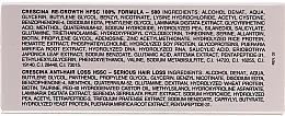 Ампули за възстановяване на растежа на косата за жени - Crescina HFSC Re-Growth Anti-hair Loss 500 — снимка N4