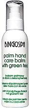Парфюмерия и Козметика Балсам за ръце със зелен чай - BingoSpa Palm Balm For Hands With Green Tea