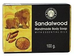 Парфюмерия и Козметика Сапун със сандалово дърво - Song of India Soap Sandalwood