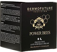 Парфюми, Парфюмерия, козметика Защитен крем против бръчки - Dermofuture Power Bees Protective Anti-wrinkle Cream