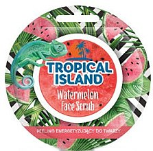 "Парфюми, Парфюмерия, козметика Скраб за лице ""Диня"" - Marion Tropical Island Watermelon Face Scrub"