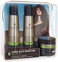 Парфюми, Парфюмерия, козметика Комплект за коса - Macadamia Professional Ultra Rich Moisture Travel Kit (шампоан/100ml + балсам/100ml + маска/60ml)