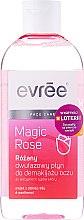 Парфюмерия и Козметика Двуфазна розова вода за почистване на грим - Evree Magic Rose Bi-Phase Eye Make-Up Remover