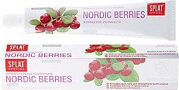 """Парфюми, Парфюмерия, козметика Паста за зъби """"Северни плодове"""" - Splat Special Nordic Berries Toothpaste"""