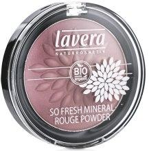 Парфюмерия и Козметика Минерален руж за лице - Lavera So Fresh Mineral Rouge Powder