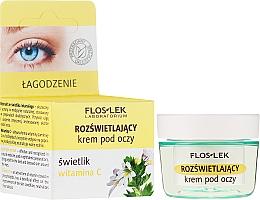 Парфюмерия и Козметика Изсветляващ околоочен крем с витамин С - Floslek