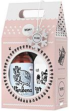 """Парфюмерия и Козметика Комплект """"Върбинка"""" - Yope Verbena Natural Set (body/balm/300ml + liq/soap/500ml)"""