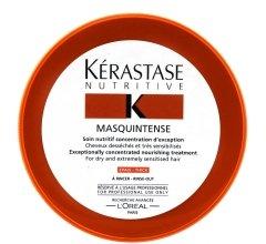 Парфюми, Парфюмерия, козметика Интензивна маска за плътна, суха и изтощена коса - Kerastase Masquintense Irisome Nutritive