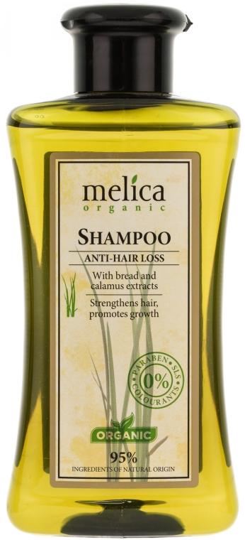 Подхранващ шампоан против косопад - Melica Organic Anti-hair Loss Shampoo — снимка N1