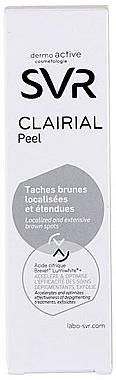 Концентриран химичен пилинг против пигментни петна - SVR Clairial Peelm — снимка N2