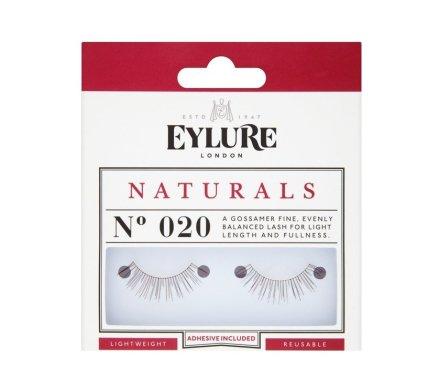 Изкуствени мигли №020 - Eylure Pre-Glued Naturals — снимка N1