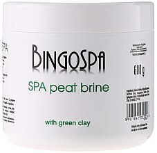 Парфюми, Парфюмерия, козметика Сол за вана със зелена глина - BingoSpa