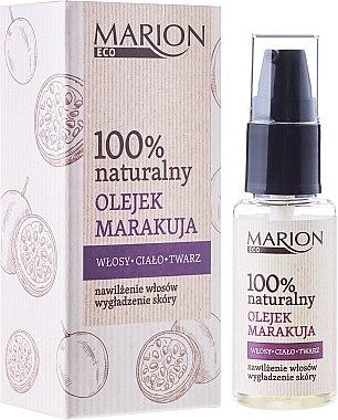 Масло от маракуя за коса, тяло и лице - Marion Eco Oil — снимка N1