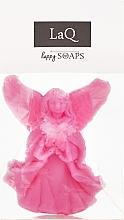 """Парфюмерия и Козметика Ръчно изработен натурален сапун """"Ангел"""" с аромат на вишна - LaQ Happy Soaps Natural Soap"""