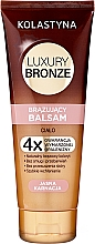 Парфюмерия и Козметика Балсам за тяло с автобронзиращ ефект за светла кожа - Kolastyna Luxury Bronze Balm