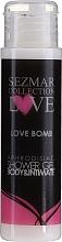 Парфюмерия и Козметика Душ гел - Sezmar Collection Love Love Bomb Aphrodisiac Shower Gel (мини)