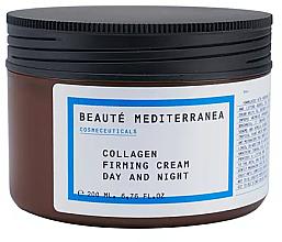 Парфюмерия и Козметика Укрепващ колагенов крем - Beaute Mediterranea Collagen Firming Cream Day & Night