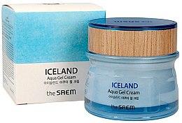 Парфюмерия и Козметика Хидратиращ крем-гел за лице - The Saem Iceland Aqua Gel Cream