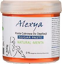 """Парфюмерия и Козметика Депилираща захарна паста """"Мента"""" - Alexya Sugar Paste Natural Menta"""