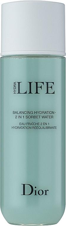 Хидратиращ лосион-сорбе за лице 2-в-1 - Dior Hydra Life Balancing Hydration 2-in-1 Sorbet Water — снимка N2
